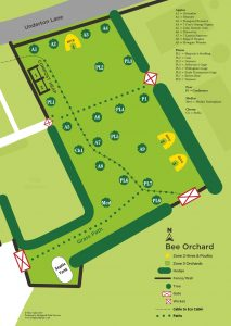 Bee Orchard Map